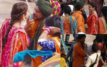 CAPTURED: Shah Rukh Khan & Anushka Sharma In A Never-Seen-Before Avatar
