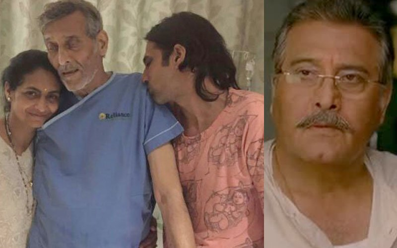 Vinod Khanna Faces Drastic Downfall In Health, Picture From The Hospital Goes Viral