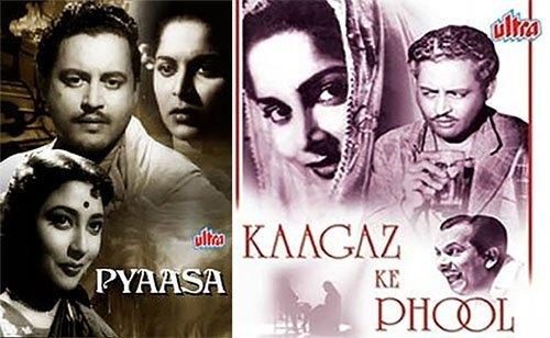 pyasa and kaagaz ke phool movie posters