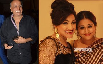 Mahesh Bhatt Brings Both Begum Jaans Together - Vidya Balan & Rituparna Sengupta