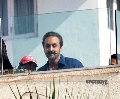 ranbir kapoor shooting for sanjay dutt biopic