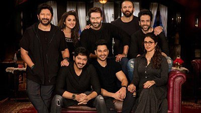 golmaal four photoshoot with the latest star cast