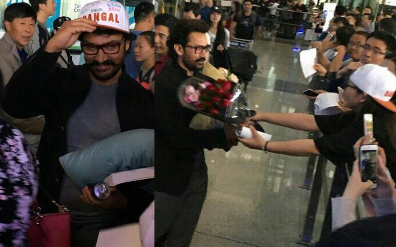 Superstar Aamir Khan Receives a Warm Welcome In China