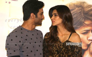 Sushant Singh Rajput 'Finally' Admits That He Is In Love With Kriti Sanon