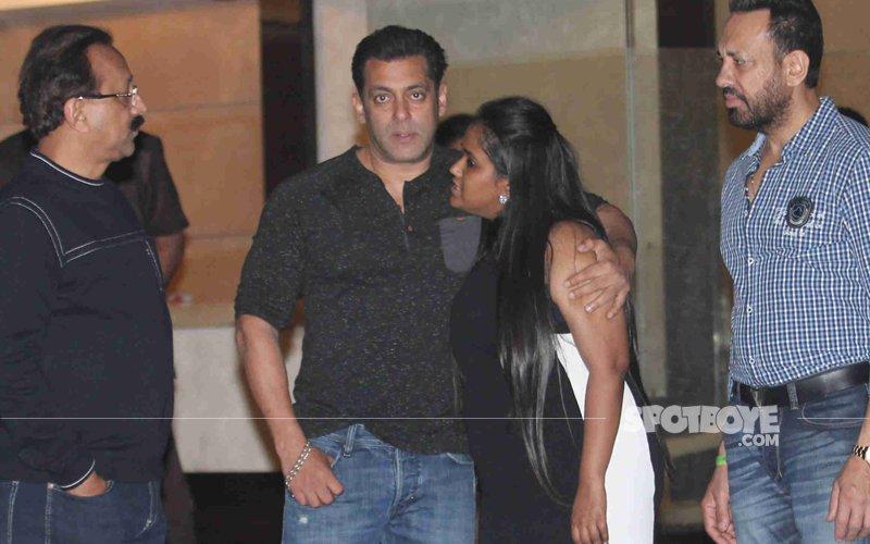 Salman Khan Lends His Star Power To Arpita And Aayush's Second Wedding Anniversary Bash