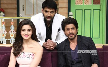 Shah Rukh Khan And Alia Bhatt Loving Their Zindagis At The Kapil Sharma Show