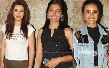 Tisca, Nandita And Patralekha At Chutney Movie Screening