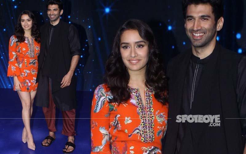 OK Jaanu Duo Shraddha-Aditya Sizzle On The Sets Of Indian Idol