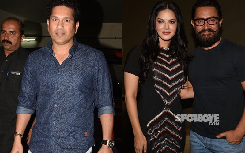 Sachin Tendulkar And Sunny Leone Gather For Special Screening Of Dangal