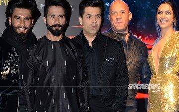Ranveer, Shahid, Karan Attend The xXx Premiere With Deepika Padukone & Vin Diesel