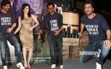 Shah Rukh Khan Celebrates Raees Success In New Style!