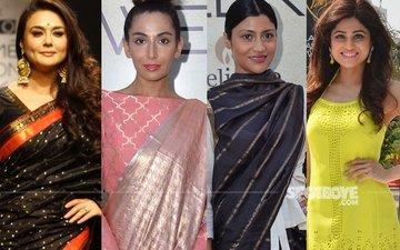 Preity, Monica, Konkona, Shamita Grace Lakme Fashion Week 2017, Day 2