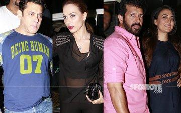TUBELIGHT WRAP-UP BASH: Salman Khan, Iulia Vantur, Kabir Khan Attend The Party!