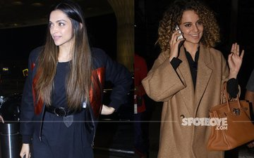 Stay Hot In Style -- Deepika & Kangana Show You How!