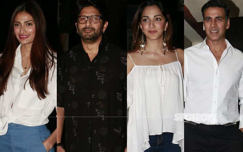 Athiya, Arshad, Kiara Attend Akshay Kumar's Jolly LLB 2 Screening