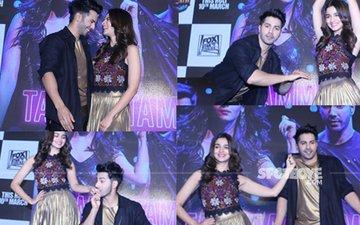 Alia Bhatt & Varun Dhawan Launch Tamma Tamma In Style!