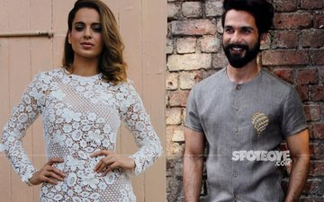 Kangana & Shahid At Their Fashionable Best During Rangoon Promotions