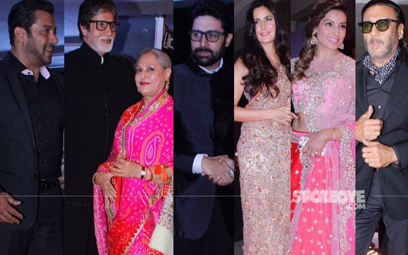Salman, Bachchans, Katrina, Bipasha, Jackie Dazzle At Neil-Rukmini's Wedding Reception