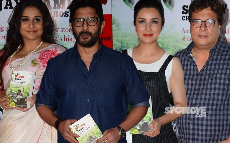 Vidya Balan, Arshad Warsi, Tisca Chopra, Tigmanshu Dhulia At A Book Launch