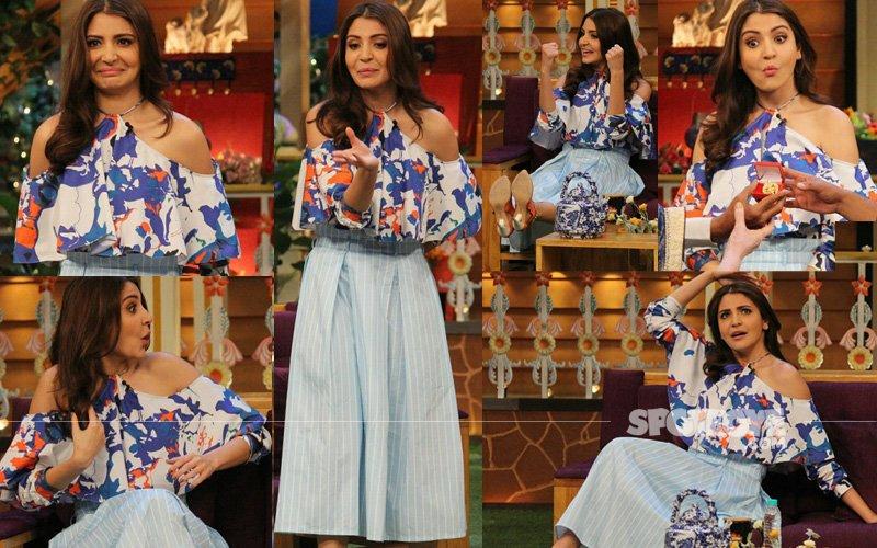 Anushka Sharma Shows Her Funny Avatar On Kapil Sharma's Show