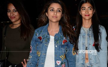 Sonakshi Sinha, Parineeti Chopra, Pooja Hegde Give Us Style Goals In Their Airport Looks