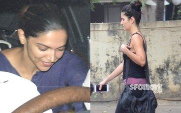 SPOTTED: Deepika Padukone And Katrina Kaif's Outing Last Evening