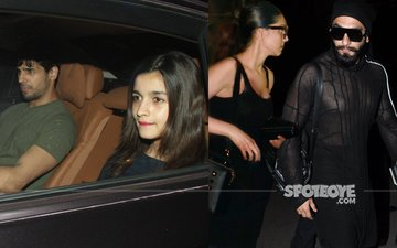 SPOTTED: Alia Bhatt & Sidharth Malhotra At Imran Khan's House...Deepika-Ranveer Fly Off To Dubai!