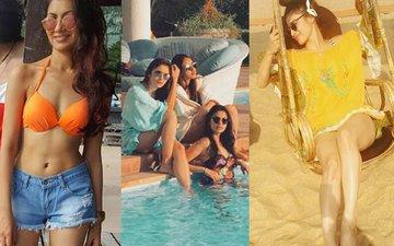 SEXY WATER BABIES: Alia Bhatt, Mouni Roy, Sriti Jha, Enjoy Their Swim