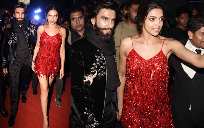 SPOTTED: Deepika & Ranveer Look Smoking HOT At The xXx After Party!