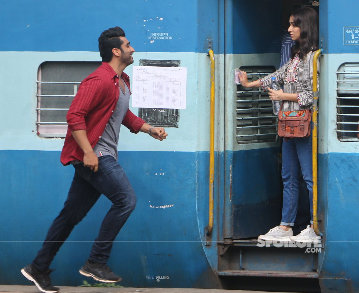 arjun kapoor and shraddha kapoor in half girlfriend
