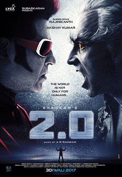 rajnikant and akshay kumar in 2 0