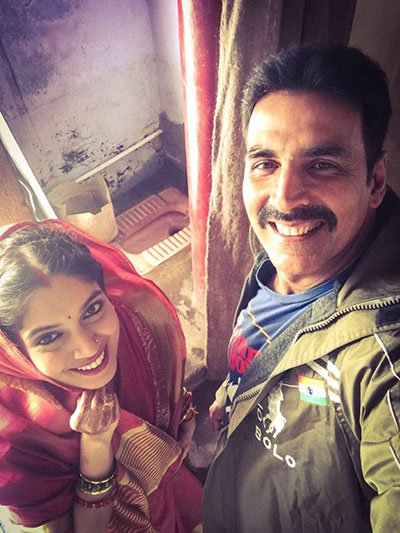 akshay and bhumi in toilet ek prem katha