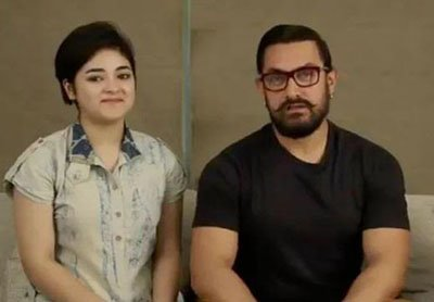 zaira wasim and aamir khan to star in secret superstar