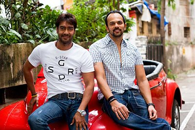 ajay devgn and rohit shetty in golmaal 4