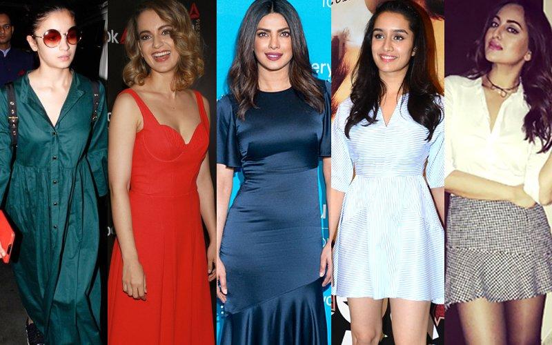 BEST DRESSED-WORST DRESSED OF THE WEEK: Alia Bhatt, Kangana Ranaut, Priyanka Chopra Or Shraddha Kapoor?