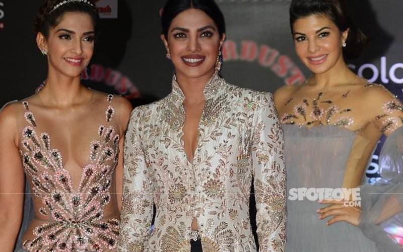 BEST DRESSED And WORST DRESSED: Sonam, Priyanka & Jacqueline's OOPS Moment At The Stardust Awards 2016
