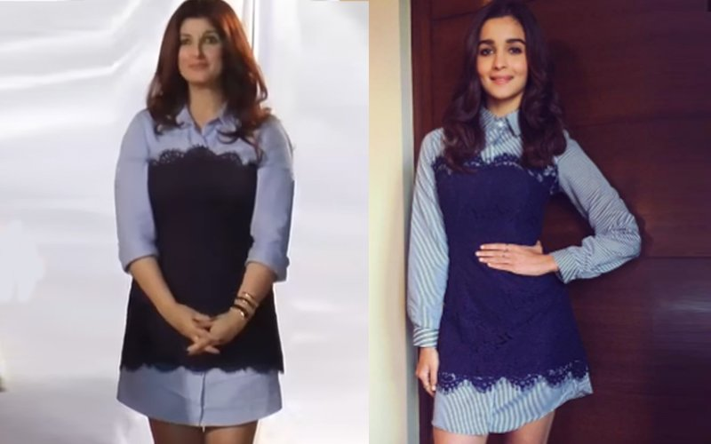 OOPS! Twinkle Khanna & Alia Bhatt Wear The Same Outfit!