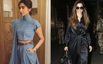 WHAT'S HOTTER: Sonam's Experimental Blue OR Deepika's Safe Black?
