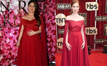 SAME PINCH: Kareena & Hollywood Actress Annalise Pick Up IDENTICAL Gowns!