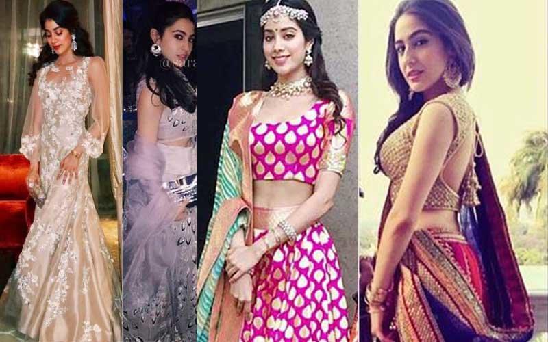 Jhanvi Kapoor Or Sara Ali Khan, Who Is The SEXIER Desi Girl?