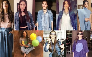 Sonam Kapoor's 8 Looks That Prove She Loves Being A Damsel In Denim