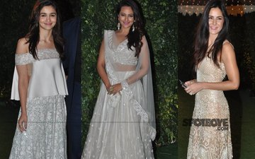 Fab Or Drab: Alia, Sonakshi, Katrina At Ronnie Screwvala's Daughter's Wedding Reception