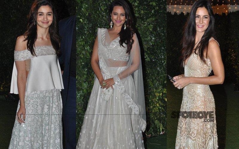 Fab Or Drab: Alia, Sonakshi, Katrina At Ronnie Screwvala's Daughter's Wedding Reception
