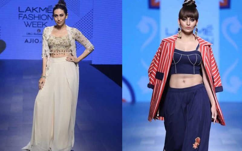 LFW 2017 DAY 4: Karisma Kapoor & Urvashi Rautela Kick-Start The Day!