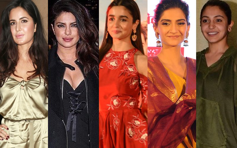 BEST DRESSED & WORST DRESSED Of The Week: Katrina, Priyanka, Alia, Sonam Or Anushka?