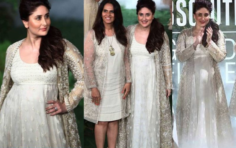 LFW 2017 Grand Finale: Kareena Kapoor Khan Looks Breathtaking As She Walks For Anita Dongre