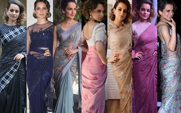 You'll Want To Drape Yourself In Boss Lady Kangana's Saris