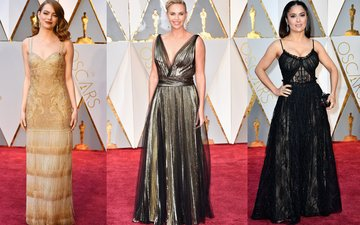 HOT OR NOT: Emma Stone, Charlize Theron & Salma Hayek Stun At The Oscars 2017