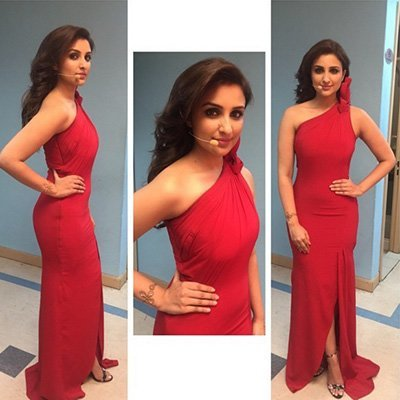 parineeti chopra hosted an IIFA event in a fiery red number