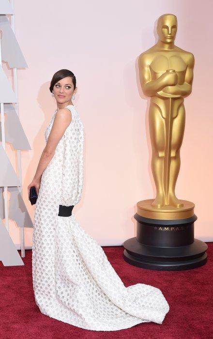 marion cotillard in an dior gown